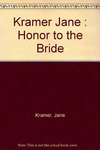 9780140128963: Honor to the Bride