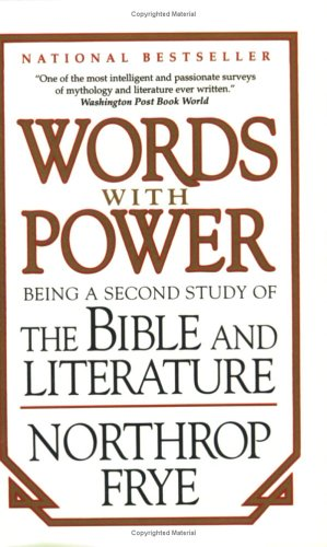 9780140129250: Words with Power - Being a Second Study of the Bible and Literature