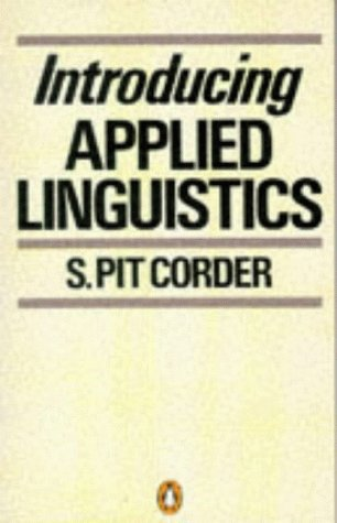 9780140132083: Introducing Applied Linguistics