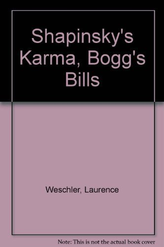 9780140132786: Shapinsky's Karma, Boggs's Bill, and Other True-Life Tales