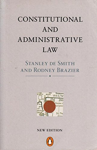 9780140134131: Constitutional and Administrative Law