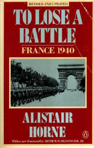 9780140134308: To Lose a Battle: France 1940