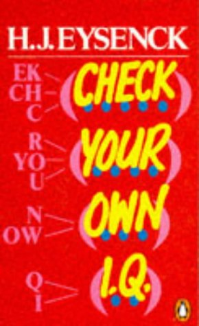 9780140135060: Check Your Own I. Q.