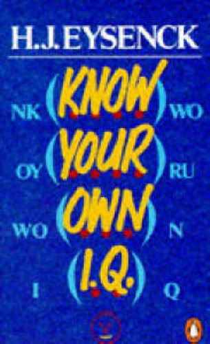 9780140135183: Know Your Own I. Q.