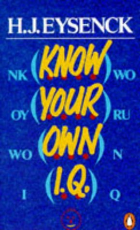 9780140135183: Know Your Own I.Q.