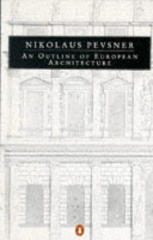 9780140135244: An Outline of European Architecture (Penguin Art and Architecture Series)
