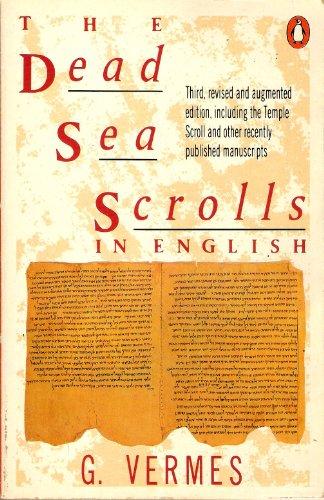 9780140135442: The Dead Sea Scrolls in English