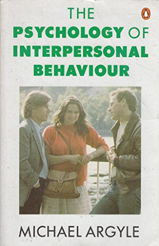 9780140135466: Psychology of Interpersonal Behaviour
