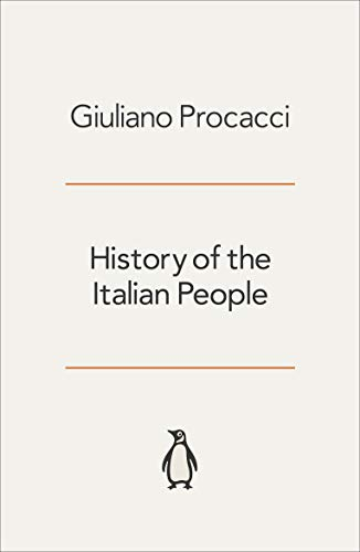 9780140135909: History of the Italian People