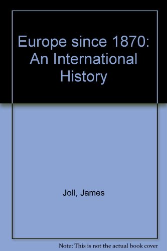 9780140136371: Europe Since 1870: An International History