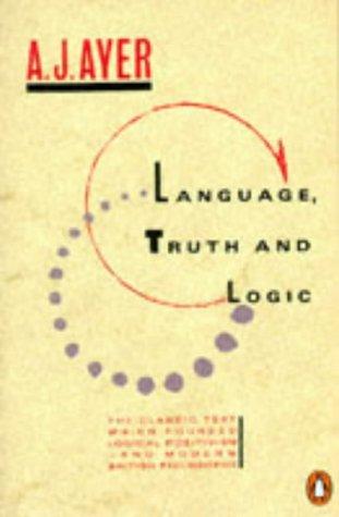 9780140136593: Language, Truth and Logic