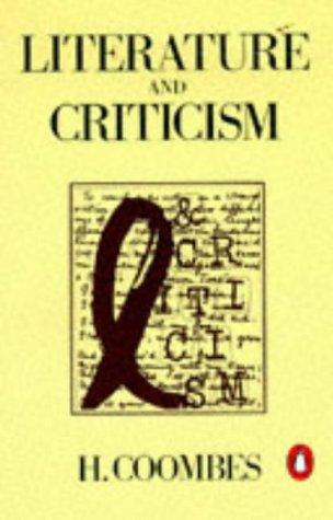9780140136920: Literature and Criticism