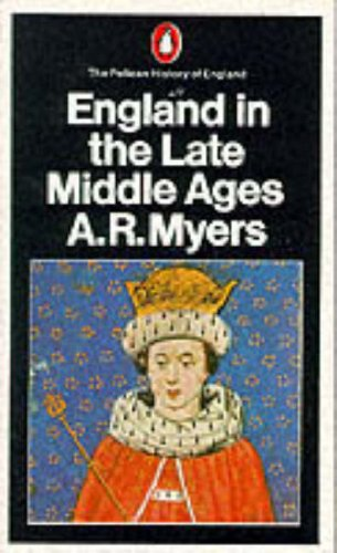 9780140137668: England in the Late Middle Ages (Penguin History of England)