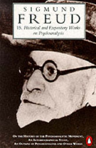 9780140138054: Historical and Expository Works on Psychoanalysis (Penguin Freud Library)
