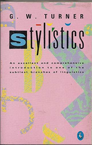 9780140138290: Stylistics (Penguin language & linguistics)