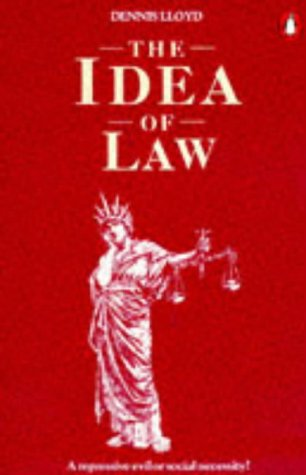 9780140138306: The Idea of Law (Penguin law)