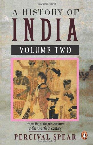 9780140138368: A History of India, Vol. 2