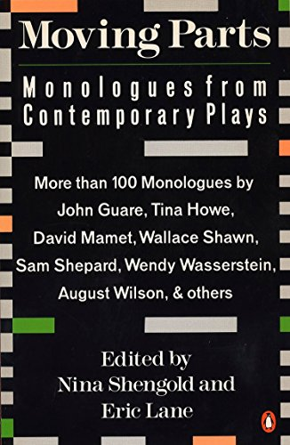 9780140139921: Moving Parts: Monologues from Contemporary Plays