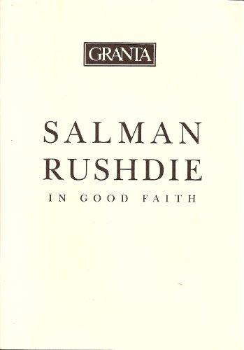 9780140140255: In Good Faith
