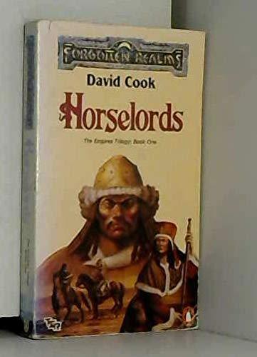 Horselords (TSR Fantasy): Cook, David