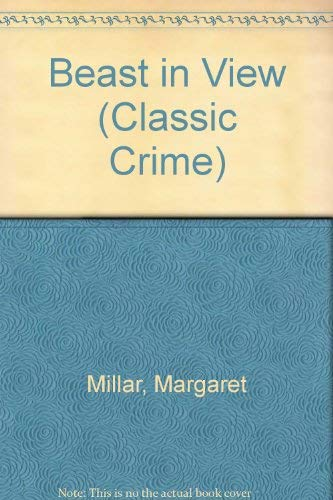 9780140146806: Beast in View (Classic Crime)