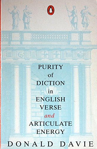 9780140146851: Purity of Diction in English Verse: With New Epilogue