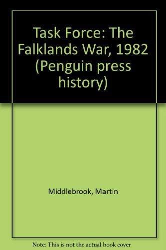 9780140147049: Task Force: The Falklands War, 1982 (Penguin press history)