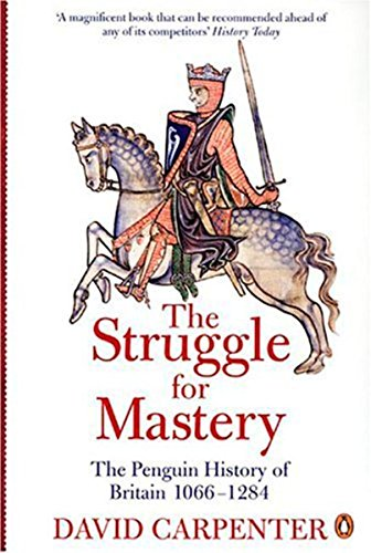 9780140148244: The Penguin History of Britain: The Struggle for Mastery: Britain 1066-1284