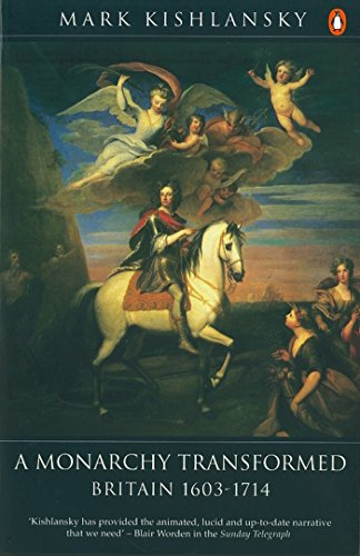 9780140148275: The Penguin History of Britain: A Monarchy Transformed, Britain 1630-1714