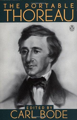 9780140150315: The Portable Thoreau (Portable Library)