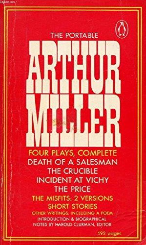 9780140150711: The Portable Arthur Miller (Viking Portable Library)