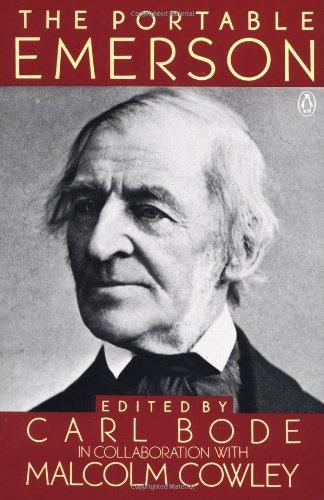 The Portable Emerson (Viking Portable Library): Emerson, Ralph Waldo