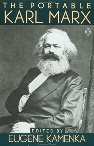 The Portable Karl Marx: Kamenka, E. (edt)
