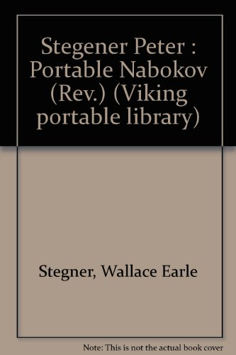 9780140151060: Stegener Peter : Portable Nabokov (Rev.) (Viking portable library)