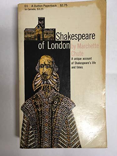 9780140153132: Shakespeare of London