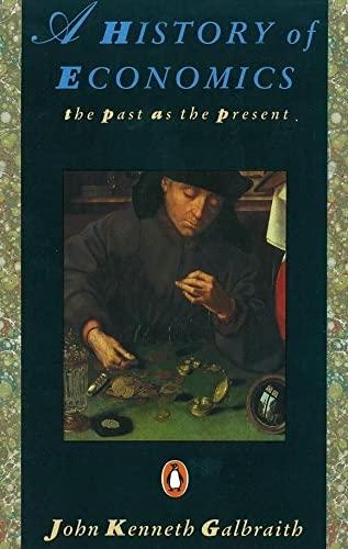 9780140153958: History of Economics: The Past as the Present (Penguin Economics)