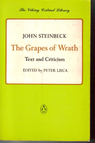 9780140155082: The Grapes of Wrath: Text and Criticism (The Viking Critical Library)