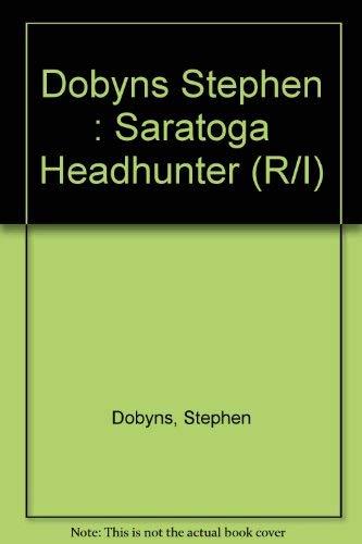 9780140156065: Saratoga Headhunter: A Charlie Bradshaw Mystery