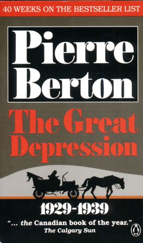 9780140157703: The Great Depression 1929-1939