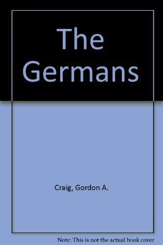 9780140158137: The Germans