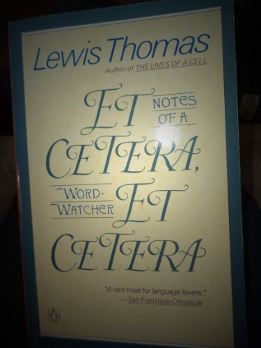 9780140158755: Thomas Lewis : Et Cetera, Et Cetera