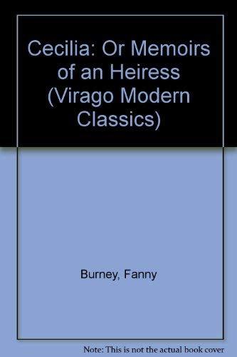 9780140161366: Cecilia: Or Memoirs of an Heiress