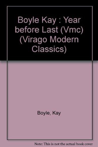 9780140161465: The Year before Last (Virago Modern Classics)