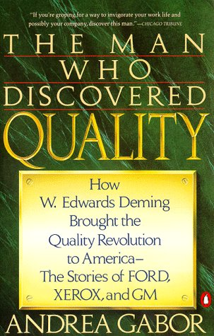 9780140165289: The Man Who Discovered Quality