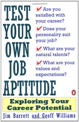 9780140168341: Test Your Own Job Aptitude: Exploring Your Career Potential, Revised Edition