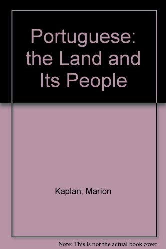 9780140168921: The Portuguese: The Land And Its People