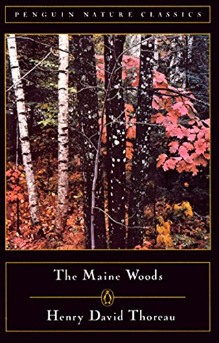9780140170139: The Maine Woods (Penguin Nature Library)
