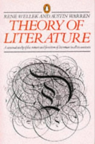 9780140172195: Theory of Literature