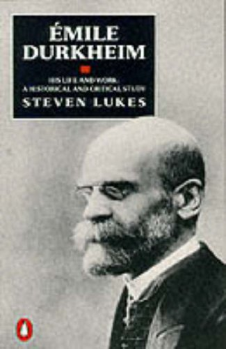 9780140172201: Emile Durkheim: His Life and Work