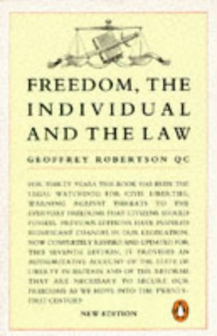 9780140172645: Freedom The Individual And The Law 2nd Edition (Penguin Law)